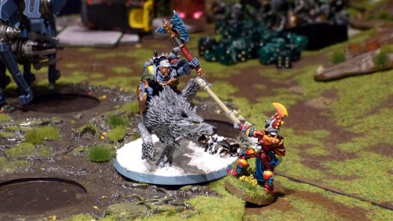 Punkte und Gefechtsoptionen - Necrons/Space Wolves vs. Aeldari/Tau