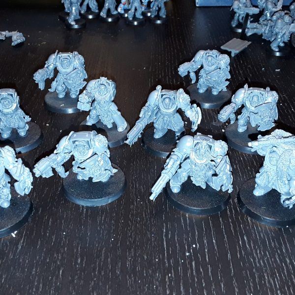 Mondschatten hat Arbeit: Space Wolves-Offensive