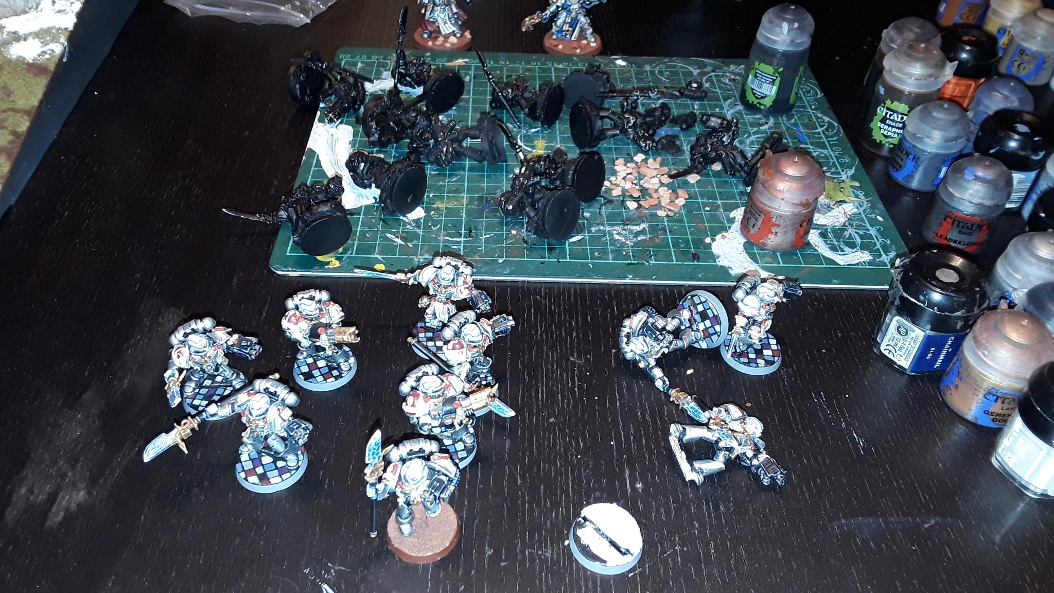 Mondschatten hat Arbeit und meine Grey Knights bekommen Verstärkung