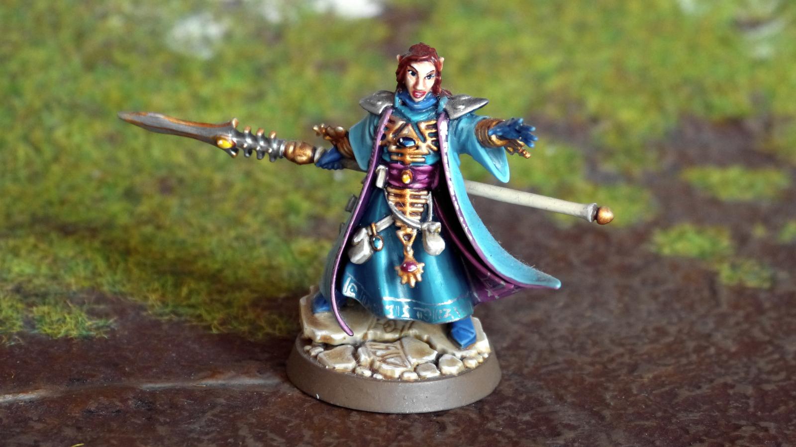 Anathuriel Eithkroisin, Runenprophetin vom Weltenschiff Zar Asuryan