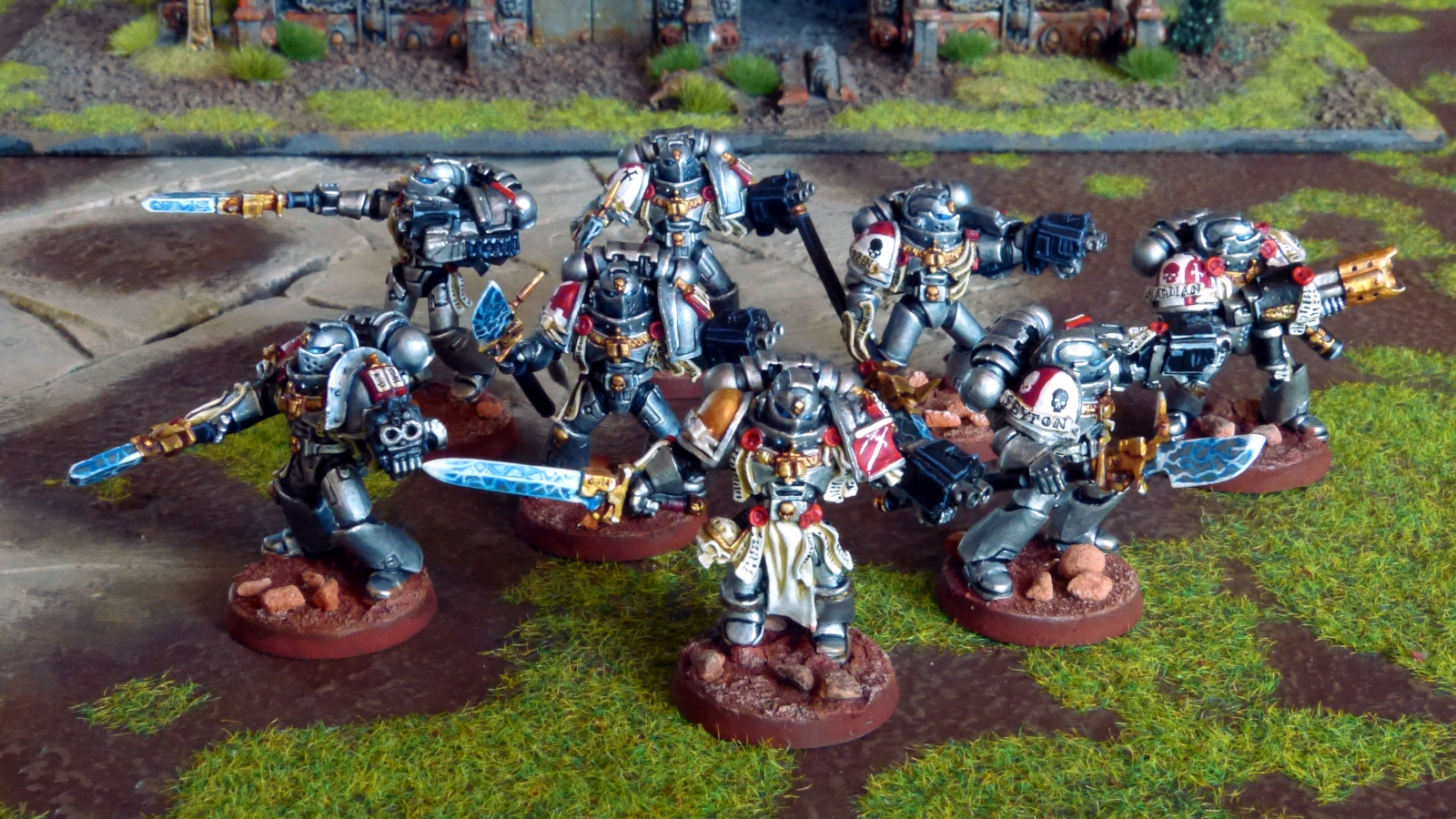 Grey Knights bemalen